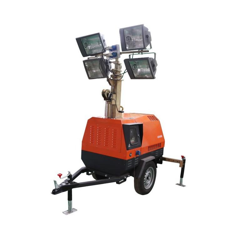 供应 思拓瑞克 移动照明车全新 应急照明车 ,  工程施工照明车、 拖车式照明车