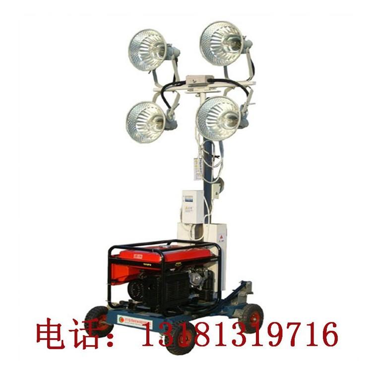 甘肅張掖市工程照明車 夜間應急照明車 投射式照明車