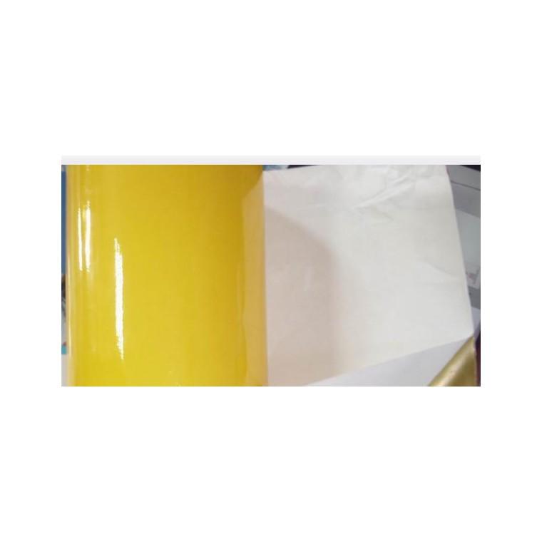 鴻鵠  非硅離型紙 黃色 白色  紙厚  高挺度良好鉆孔加工性  良好的殘余粘著力