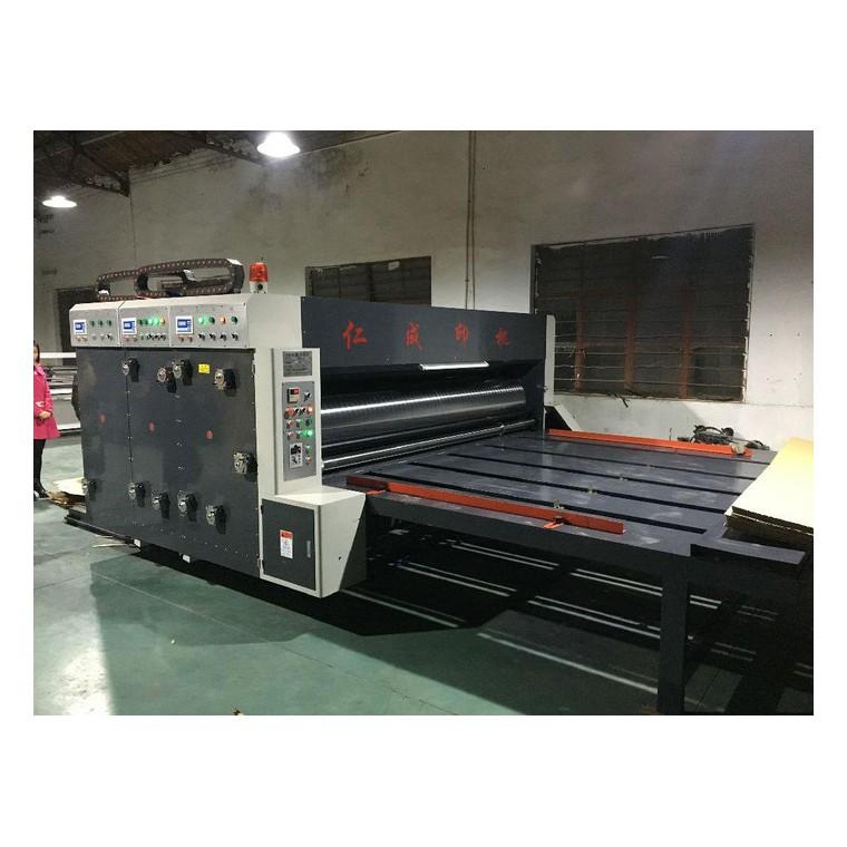 超大型多色半自動印刷模切開槽機 高速印刷機、  印刷機 印刷開槽機 半自動雙色印刷開槽機