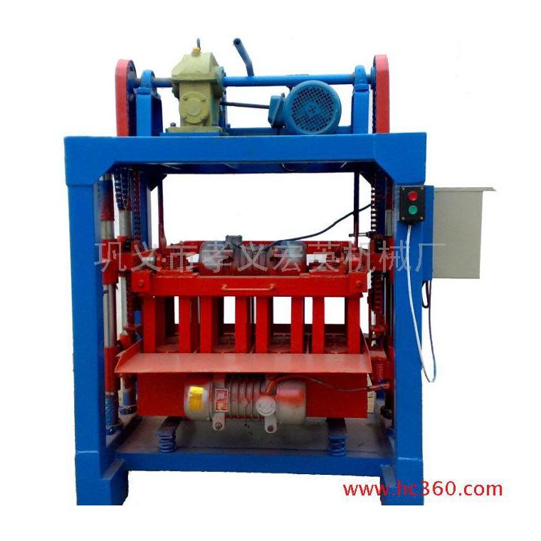 供應QMJ4-35B新一代小型(自動脫模)磚機設備、建材生產加工設備 建材生產加工機械