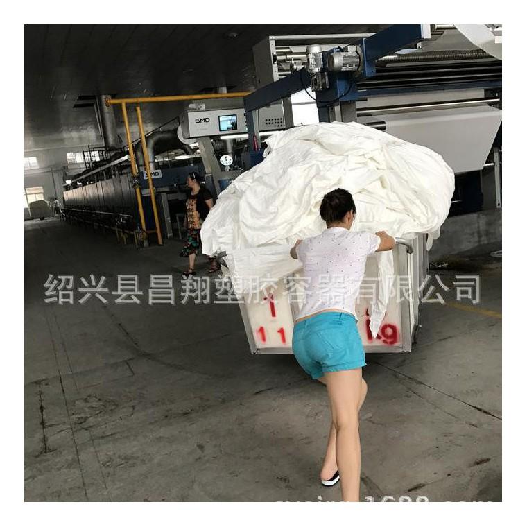 【杭州】服裝周轉箱 車間手推搬運布車 染布廠倒騰車 直供服裝周轉箱