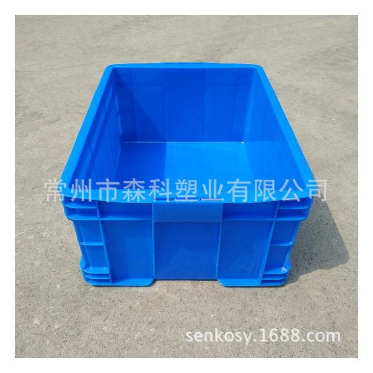 塑料儲物箱糧油店置物箱汽配運輸箱465-220膠箱全新料周轉箱