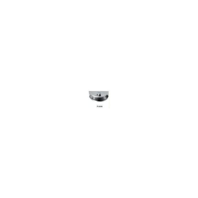 【富力達】F-2065 廚衛五金 大號半圓玻璃夾 廚衛五金