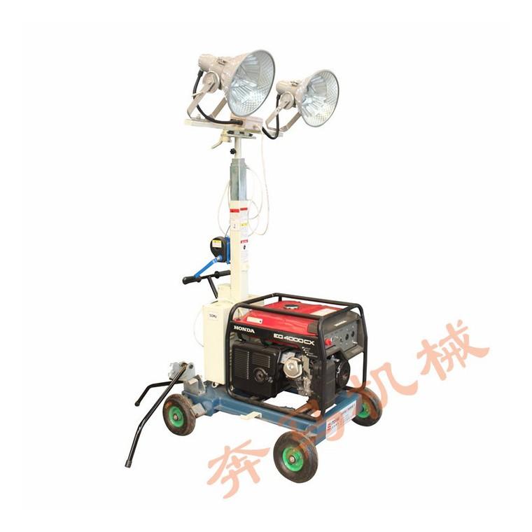 鲁西南400瓦移动照明车 防雨淋照明灯塔 220电压铁路工程照明车