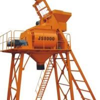 JS1000雙臥軸強制式混凝土攪拌機