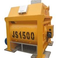 JS1500強制式混凝土攪拌機