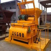 JS500雙臥軸強制式混凝土攪拌機