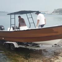 7m玻璃鋼釣魚艇-玻璃鋼游艇