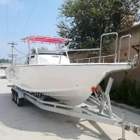 9.9m玻璃鋼專業釣魚艇- 玻璃鋼游艇