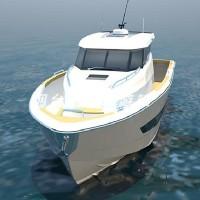11.5m玻璃鋼游釣艇-玻璃鋼游艇