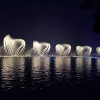 戶外氣爆噴泉