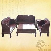 荷花寶座,紅木家具