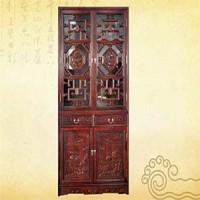 八卦書柜,紅木家具