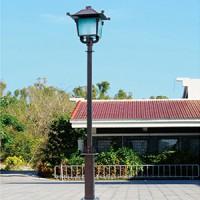 揚州市電庭院燈