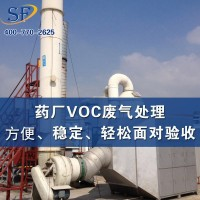 VOC有機廢氣處理(吸收法+吸附法)