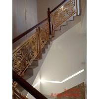 枝江鋁藝雕花樓梯護欄不同風格結構
