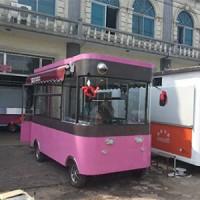 太陽能電動美食小吃車