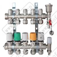 北京沃佛尔一体锻造无焊接、智能型分集水器