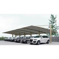 铝合金车棚展示