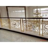 碭山銅雕刻樓梯 實心銅板雕刻護欄更完整