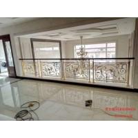 朝陽鋁雕花歐式護欄 純銅樓梯護欄綜合設計圖片