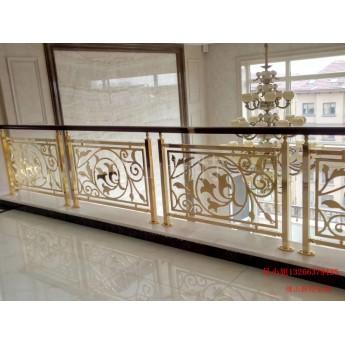 江陵銅樓梯加工 更新的藝術雕刻樓梯護欄圖片