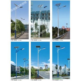 單臂太陽能路燈