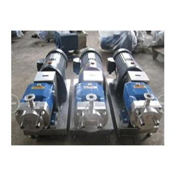 上海泰盛制作的凸轮转子泵规格齐全