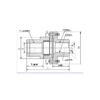 XLD單法蘭星形聯軸器