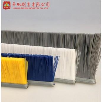 快速門條形毛刷 彩色防塵耐磨條形毛刷