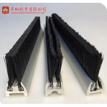 雙排防塵防夾雙通道自動扶梯條刷