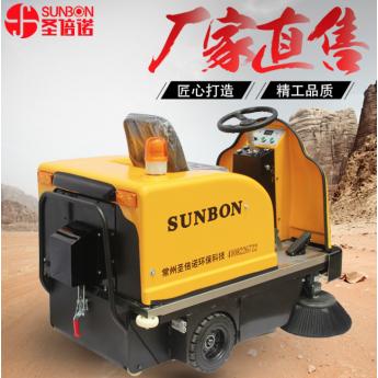 免维护电池的电动扫地车