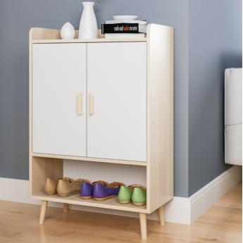 北歐現代簡約小戶型經濟型儲物鞋柜