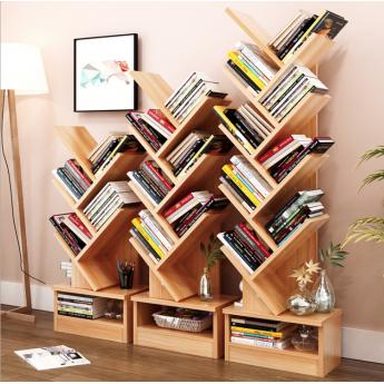 創意書房書柜樹形置物架