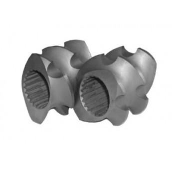 6542料料膨化机捏合块,双螺杆挤出机螺套/南京科尔特