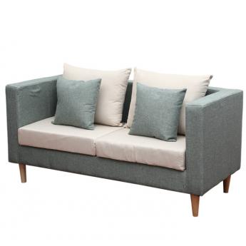 简约现代小户型双人沙发
