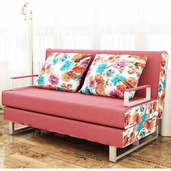 可拆洗可折叠两用沙发床