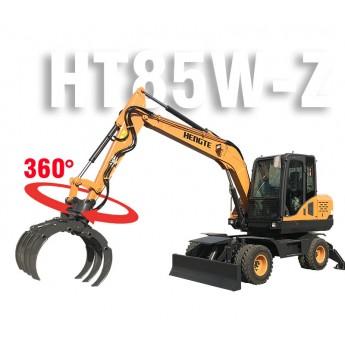 HENGTE/恒特輪式抓裝機HT85W-Z 抓木機 進口配置