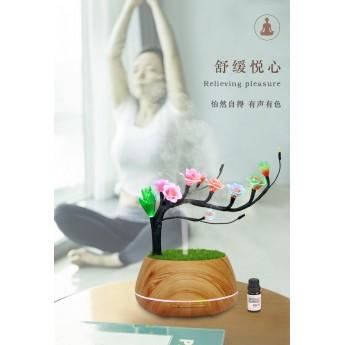瑜伽伴侶幻寶香氛仙韻古梅燈創意擺件LED創意燈飾浪漫擺件