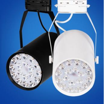 LED服裝店背景墻吸頂燈