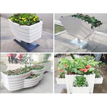 河南PVC塑木花箱,木塑花箱,河南pvc微發泡板塑木花箱