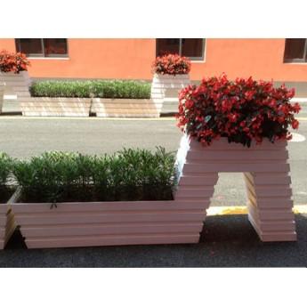 戶外街道花箱,街道花槽,河南種植花箱,河南街邊花箱