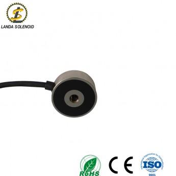 微小型圓形吸盤式電磁鐵直流24V電磁鐵H4921