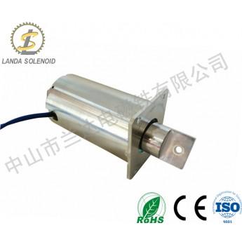 推拉式電磁鐵廠家TU88155圓管牽引式電磁鐵