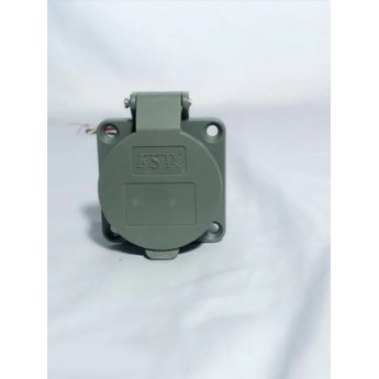 電動汽車交流充電插座32A三相充電樁端新國標電動汽車充電插座