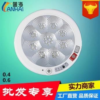 消防應急吸頂燈LED吸頂燈應急感應吸頂燈聲光控應急吸頂燈