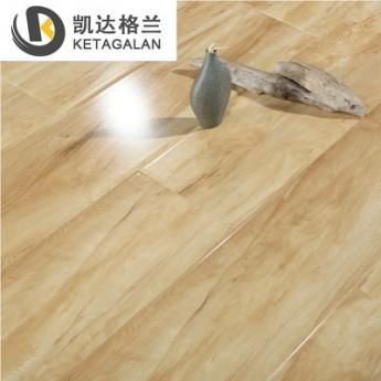 法式奢華高亮 12mm強化復合地板 EO級環保45克耐磨地板