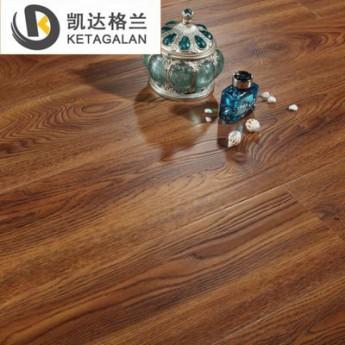 中式復古浮雕面墻板背景墻金剛板EO環保家裝耐磨強化復合木地板
