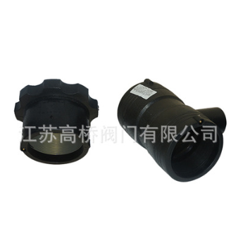 厂家供应PE电熔管件 PE管电熔正三通 钢丝网骨架管配套管件